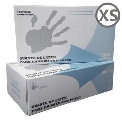 GUANTES LATEX TALLA XS MAX...